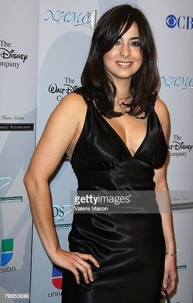 Singer Odalys Garcia attends the 11th Annual Impact Awards Gala at the Beverly Wilshire Hotel on February 22 2008 in Beverly Hills California
