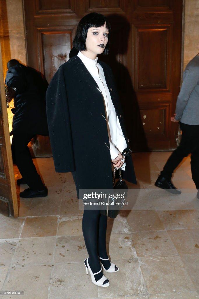 Balenciaga : Front Row  - Paris Fashion Week Womenswear Fall/Winter 2014-2015