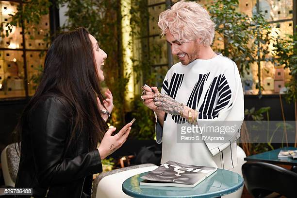 singer of the band Tokio Hotel at the photo art exhibition and book launch of BILLY at 10 Corso Como on May 9 2016 in Milan Italy