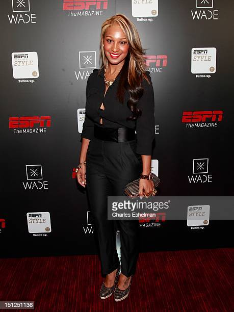 B singer Olivia attends the Dwyane Wade Book Launch Celebration With ESPN The Magazine at Jazz at Lincoln Center on September 4 2012 in New York City