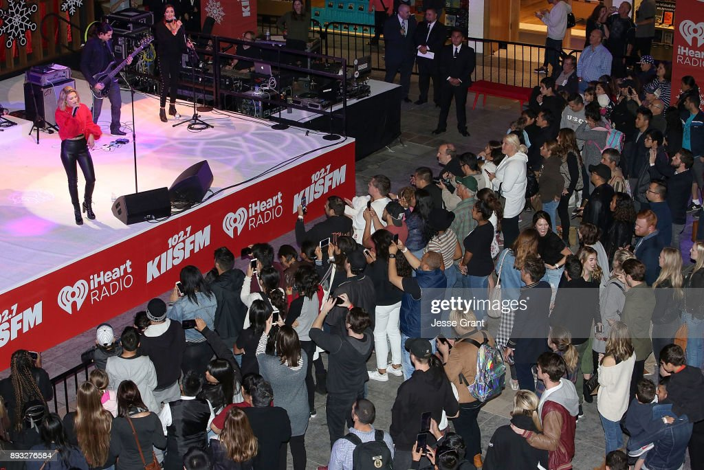 "Westfield Century City Presents ""Live at the Atrium"" Holiday Concert Series in Partnership with KIISFM - Olivia Holt"