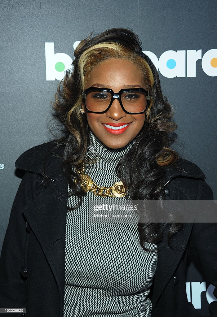 Singer Olivia Longott attends The New Billboard Launch Event at Stage 48 on February 21, 2013 in New York City.