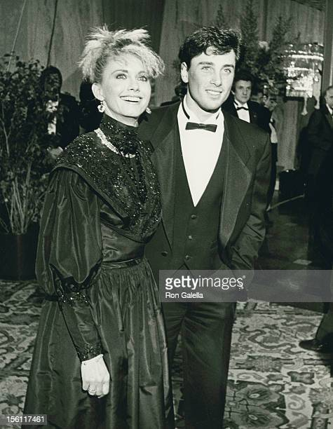 Singer Olivia Newton-John and actor Matt Lattanzi attend 13th Annual American Film Institute Lifetime Achievement Awards Honoring Gene Kelly on March...