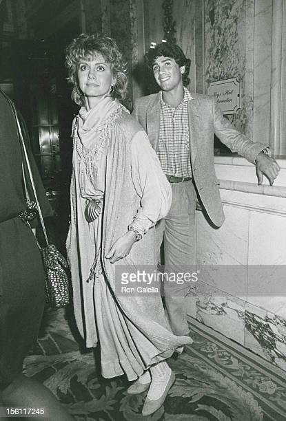 Singer Olivia NewtonJohn and actor Matt Lattanzi attend Consumer Action Now Benefit Hosted by Robert and Lola Redford on May 25 1982 at the Plaza...