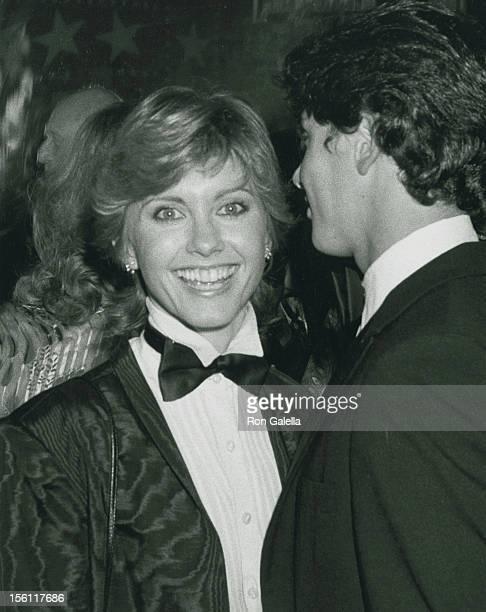 Singer Olivia Newton-John and actor Matt Lattanzi attend Nineth Annual American Film Institute Lifetime Achievement Awards Honoring Fred Astaire on...