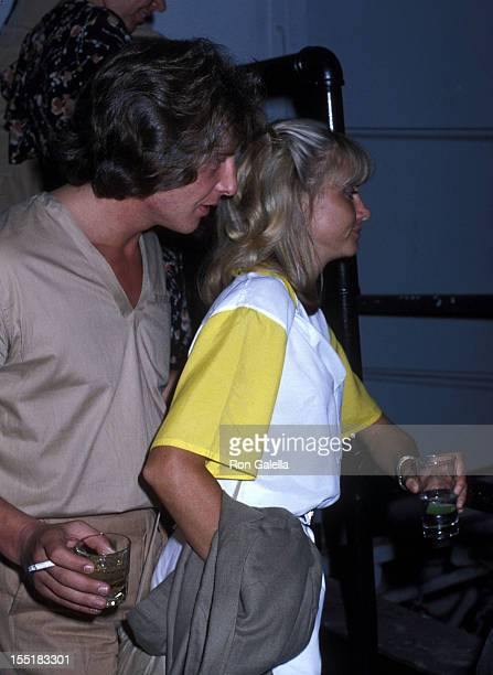 Singer Olivia NewtonJohn and date Lee Kramer attend the SoHo Weekly News' First Annual SoHo Arts Awards After Party on June 11 1978 at Studio 54 in...