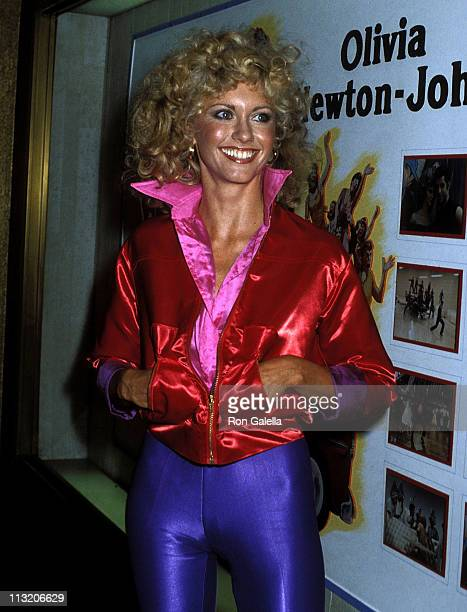 Singer Olivia NewtonJohn attends the 'Grease' Premiere Party on June 13 1978 at Studio 54 in New York City