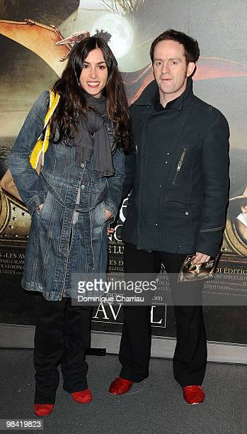 Singer Olivia Ruiz and Mathias Malzieu the lead singer for the band Dionysos attend the premiere of the Luc Besson's film 'Les Aventures...