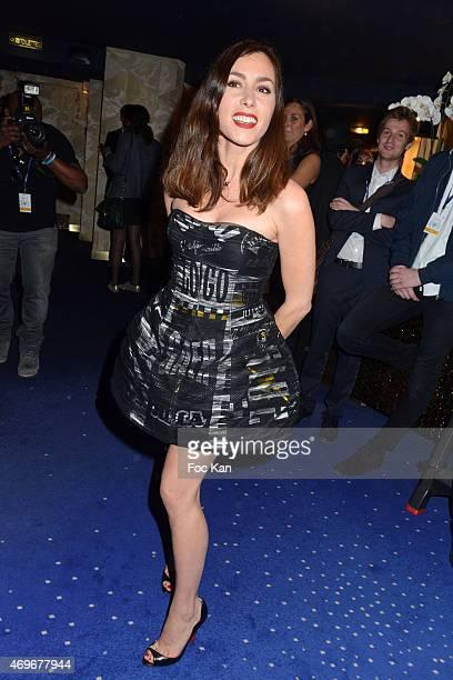Singer Olivia Ruiz attends the 'Globes De Cristal' 2015 : Award Ceremony At The Lido on April 13, 2015 in Paris, France.