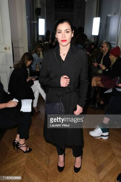 Singer Olivia Ruiz attends the Guy Laroche show as part of the Paris Fashion Week Womenswear Fall/Winter 2019/2020 on February 27 2019 in Paris France
