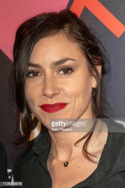 Singer Olivia Ruiz attends the 'Par Amour' charity gala at Mairie de Paris on February 14, 2019 in Paris, France.