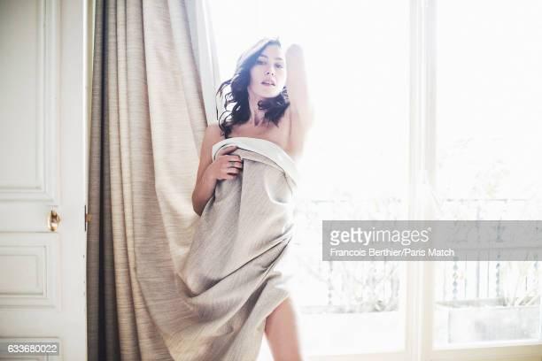 Singer Olivia Ruiz is photographed for Paris Match on November 18 2016 in Paris France