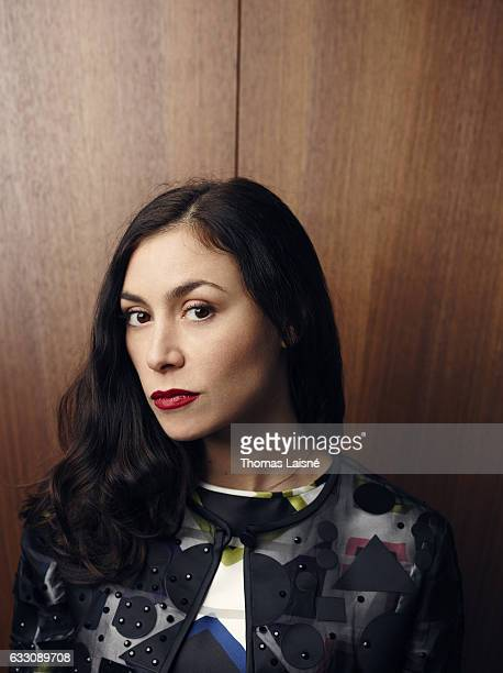 Singer Olivia Ruiz is photographed for Self Assignment on October 27, 2016 in Paris, France.