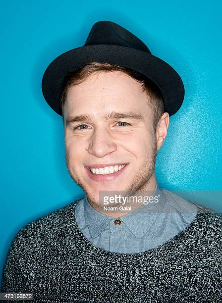 Singer Olly Murs poses for a portrait on December 6 2012 in New York City