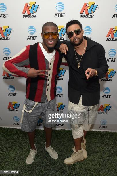 SInger Omi and rapper Shaggy attend at 1035 KTU's KTUphoria 2017 presented by ATT at Northwell Health at Jones Beach Theater on June 3 2017 in...