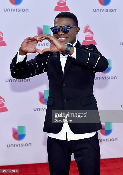 Singer Omi attends the 16th Latin GRAMMY Awards at the MGM Grand Garden Arena on November 19 2015 in Las Vegas Nevada