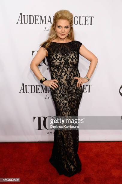 Singer Orfeh attends the 68th Annual Tony Awards at Radio City Music Hall on June 8 2014 in New York City