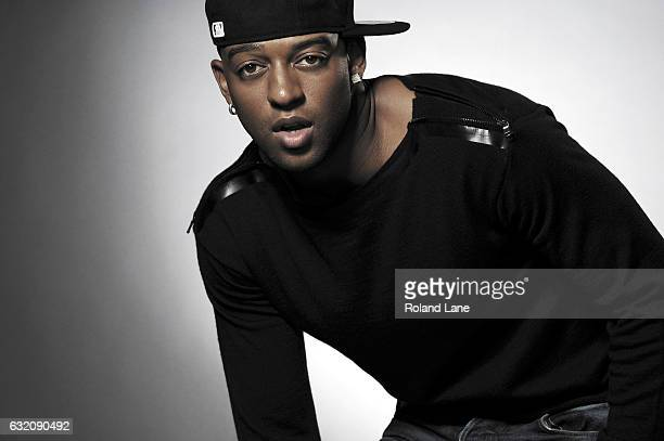 Singer Oritse Williams of pop band JLS is photographed on September 16 2011 in London England
