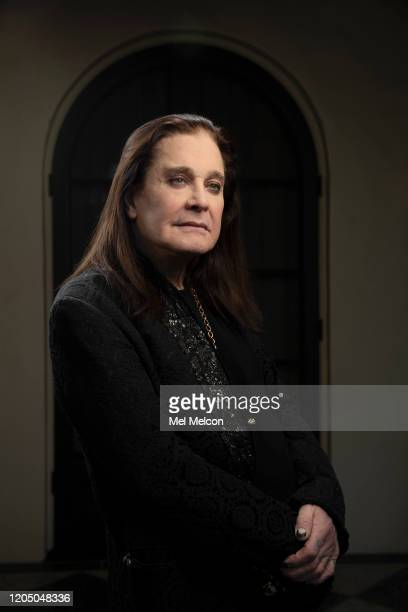 Singer Ozzy Osbourne is photographed for Los Angeles Times on February 5, 2020 in Los Angeles, California. PUBLISHED IMAGE. CREDIT MUST READ: Mel...