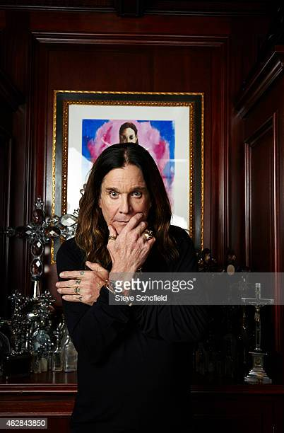 Singer Ozzy Osbourne is photographed for the Times on September 18 2014 in Los Angeles California