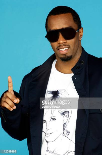 Singer P Diddy at the Concert For Diana 2007