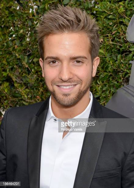 Singer Pablo Alboran arrives at the 13th annual Latin GRAMMY Awards held at the Mandalay Bay Events Center on November 15 2012 in Las Vegas Nevada