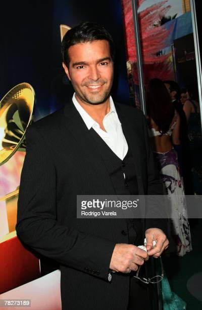 Singer Pablo Montero arrives at the 8th Annual Latin GRAMMY Awards at Mandalay Bay on November 8, 2007 in Las Vegas, Nevada.