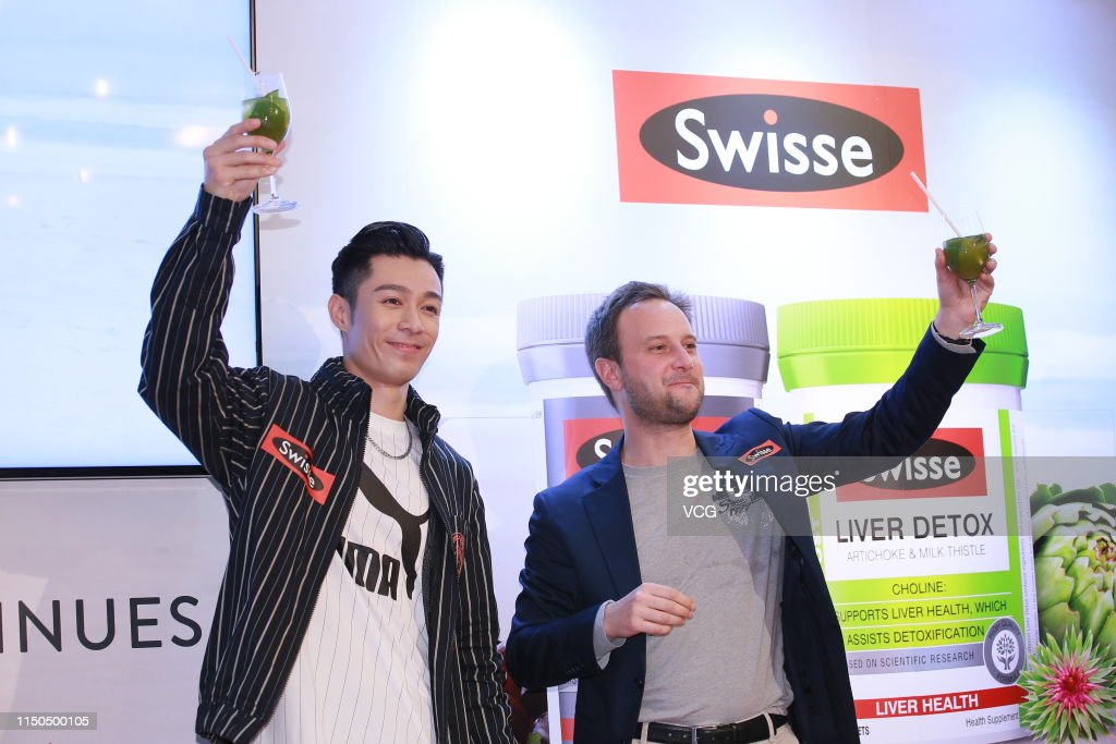 HKG: Pakho Chau Attends Swisse Activity In Hong Kong
