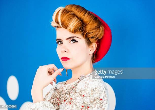 Singer Paloma Faith is photographed for Billboard Magazine on November 28 2012 in New York City PUBLISHED IMAGE