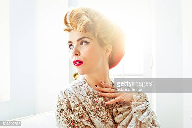 Singer Paloma Faith is photographed for Billboard Magazine on November 28 2012 in New York City