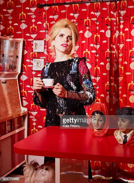 Singer Paloma Faith is photographed for the Telegraph on July 15 2015 in London England
