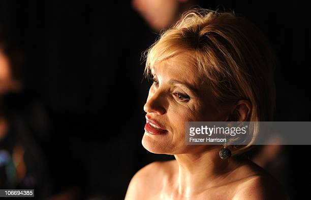Singer Paloma San Basilio during the 2010 Person of the Year honoring Placido Domingo at the Mandalay Bay Events Center inside the Mandalay Bay...