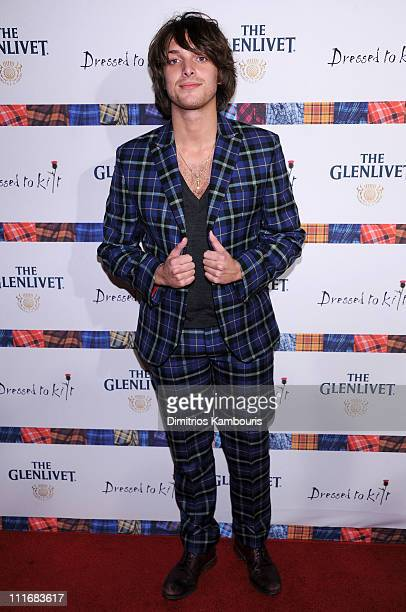 Singer Paolo Nutini attends the 9th annual Dressed to Kilt charity fashion show at the Hammerstein Ballroom on April 5 2011 in New York City