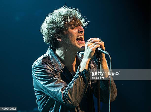 Singer Paolo Nutini performs at Webster Hall on June 12 2014 in New York City