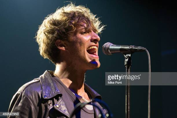 Singer Paolo Nutini performs at Webster Hall on June 12, 2014 in New York City.