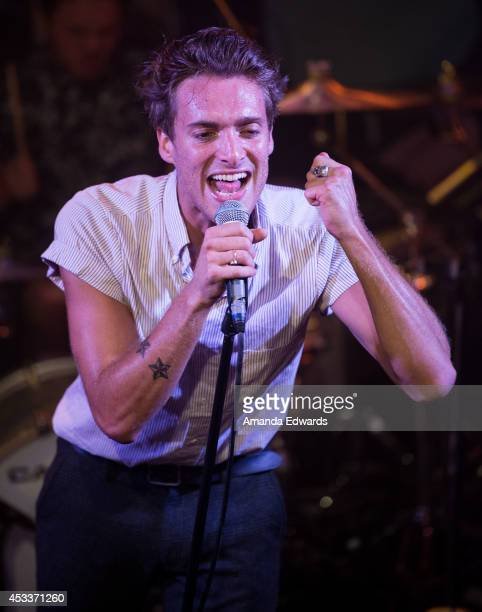 Singer Paolo Nutini performs onstage at the Troubadour on August 8 2014 in West Hollywood California