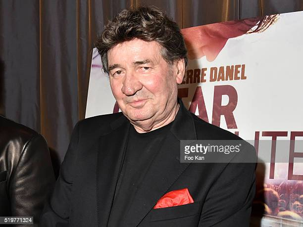 Singer Pascal Danel attends 'Guitar Tribute' by Golden disc awarded Jean Pierre Danel at Hotel Burgundy on April 7 2015 in Paris France
