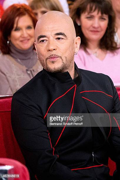 Singer Pascal Obispo; he is one of those composers of 'Vieillir avec toi', the new album of main guest of the show, singer Florent Pagny; attends the...