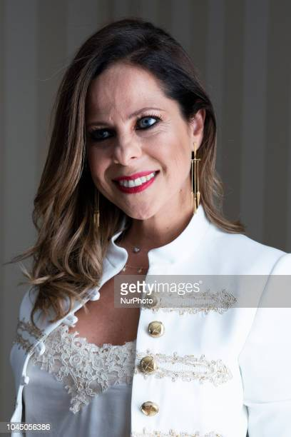 Singer Pastora Soler presents her next concert during La Calma Tour at Palace Hotel on October 3 2018 in Madrid Spain