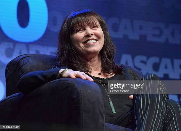 Singer Pat Benatar speaks onstage during the 2016 ASCAP I Create Music EXPO on April 30 2016 in Los Angeles California