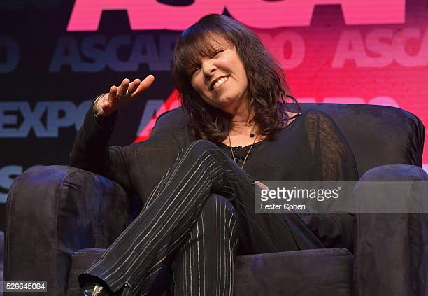 Singer Pat Benatar speaks onstage during the 2016 ASCAP 'I Create Music' EXPO on April 30 2016 in Los Angeles California