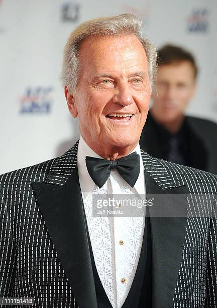 Singer Pat Boone arrives at the 2009 MusiCares Person of the Year Tribute to Neil Diamond at the Los Angeles Convention Center on February 6, 2009 in...