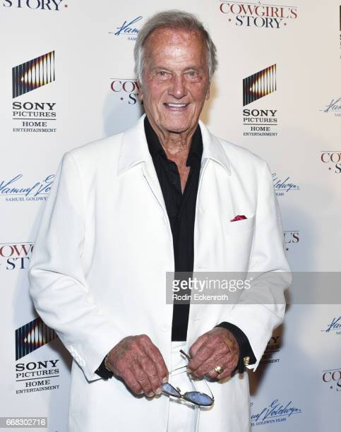 Singer Pat Boone attends the premiere of Samuel Goldwyn Films' 'A Cowgirl's Story' at Pacific Theatres at The Grove on April 13 2017 in Los Angeles...