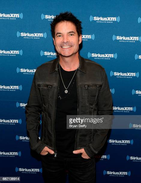 Singer Pat Monahan of Train arrives at SiriusXMs 'Final Dress Rehearsal' special exclusively for SiriusXM subscribers at MGM Grand Garden Arena on...