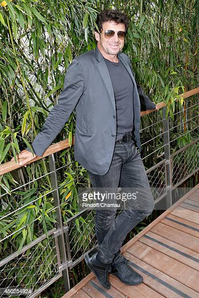 Singer Patrick Bruel attend the Roland Garros French Tennis Open 2014 Day 14 on June 7 2014 in Paris France