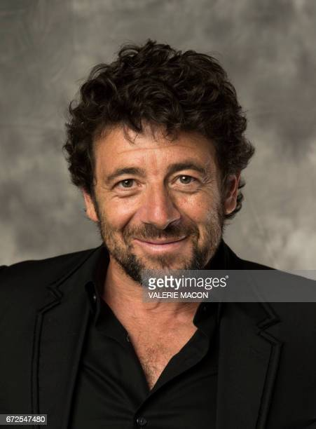 Singer Patrick Bruel attends Colcoa French Film Festival Opening night on April 24 in Los Angeles California / AFP PHOTO / VALERIE MACON