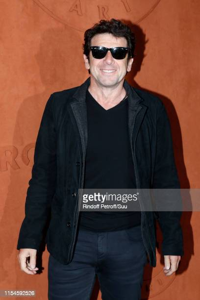 Singer Patrick Bruel attends the 2019 French Tennis Open Day Fourteen at Roland Garros on June 08 2019 in Paris France