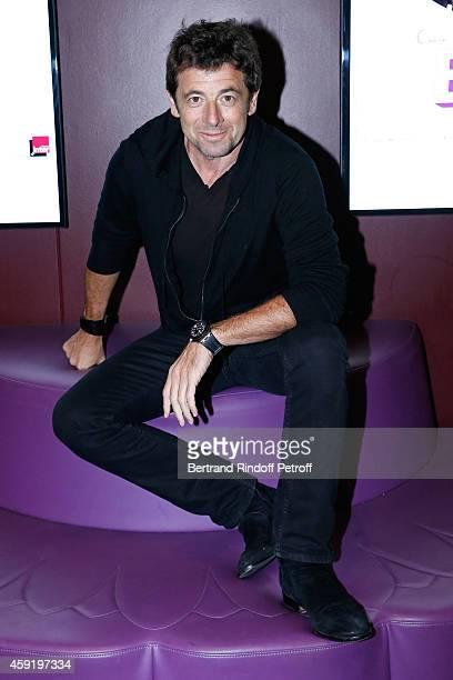 Singer Patrick Bruel attends the 'Eden' Paris Premiere at Cinema Gaumont Marignan on November 18 2014 in Paris France