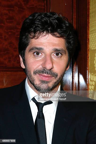 Singer Patrick Fiori attends the 'Global Gift Gala' 2014 Charity Dinner at the Four Seasons Hotel on May 12 2014 in Paris France