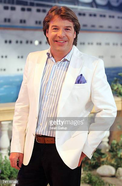 Singer Patrick Lindner attends the dress rehearsal to the ZDF television show Summer Hit Festival with Dieter Thomas Heck May 9 2007 in Berlin Germany